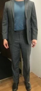 BACHRACH SUIT JACKET AND PANTS